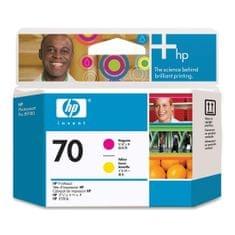 HP tiskalna glava 70 (C9406A), Magenta/Yellow