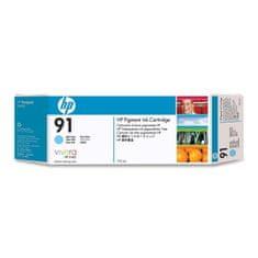 HP kartuša 91 (C9470A), 775 ml, Light Cyan