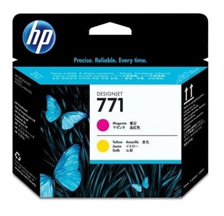 HP tiskalna glava 771 (CE018A), magenta/rumena