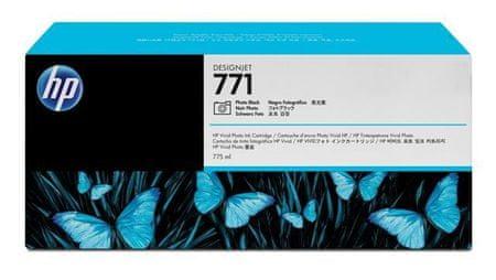 HP kartuša 771 (B6Y13A), 775 ml, foto črna