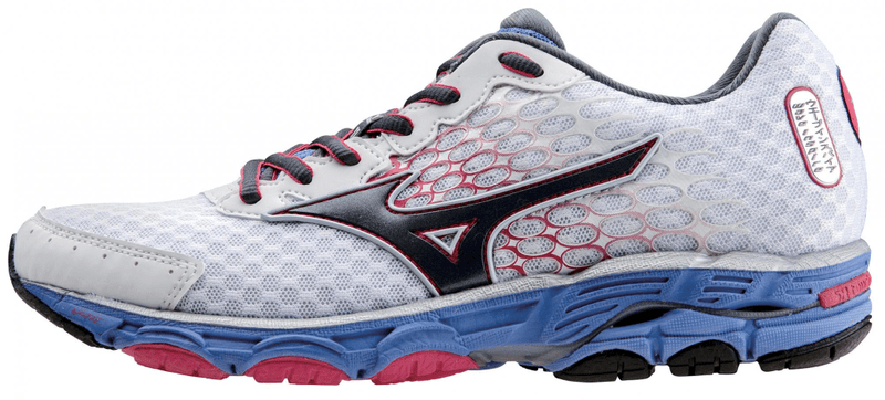 Mizuno Wave Inspire 11 White/Blue 7,0 (41,0)