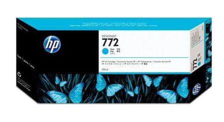 HP kartuša 772 (CN636A), 300 ml, Cyan