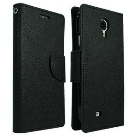 Goospery preklopna torbica Fancy Diary Bookstyle za SAMSUNG GALAXY Trend 7562 ter S duos 7560, črna