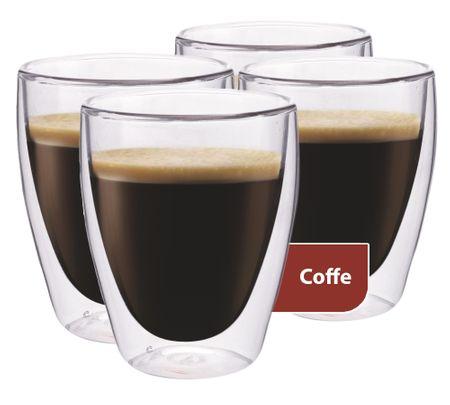 MAXXO steklene skodelice za kavo