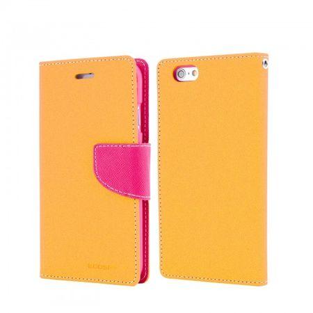 Goospery preklopna torbica Fancy Diary Bookstyle za Sony Xperia Z3, roza /rumena