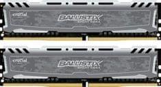 Crucial pomnilniški modul DDR4 8GB Kit (4GBx2) 2400MHz CL16 1.2V DIMM Ballistix Sport LT