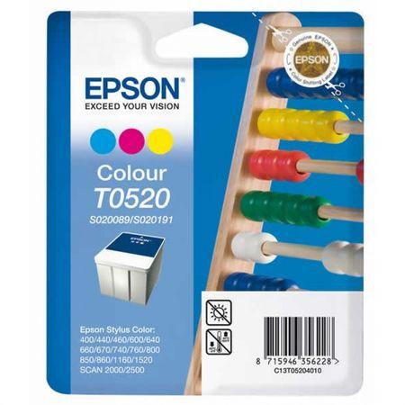 Epson kartuša T0520 (C13T05204010), 35 ml, barvna