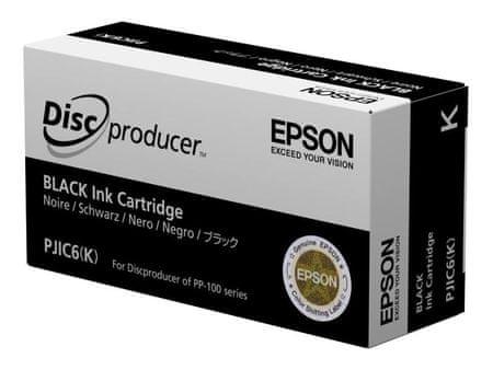 Epson kartuša PJIC6 (C13S020452), črna