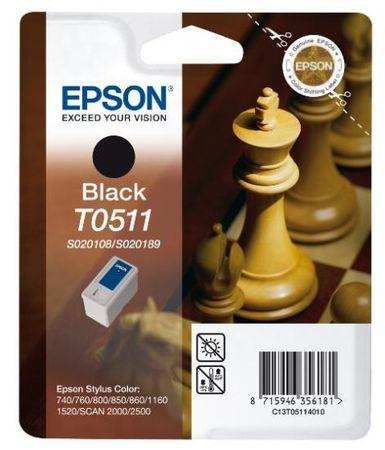 Epson kartuša T0511 (C13T05114010), 24 ml, črno