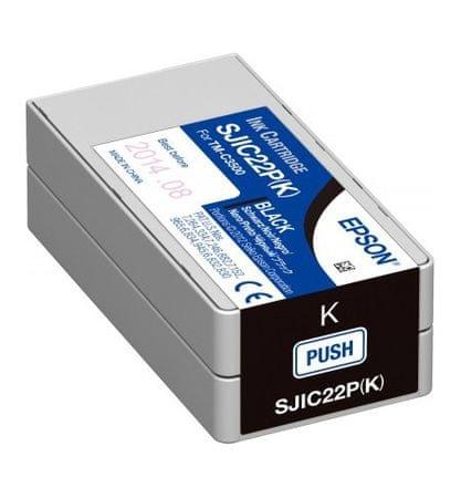 Epson kartuša SJIC22P (C33S020601), črna