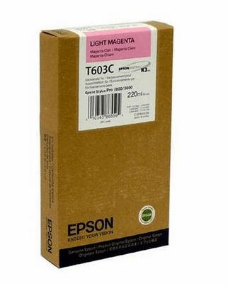 Epson kartuša T603C (C13T603C00), 220 ml, Light Magenta