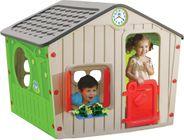 Buddy Toys Domeček VILLAGE šedivý