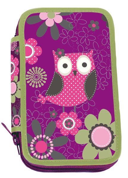 Stil Školní penál dvoupatrový Owl