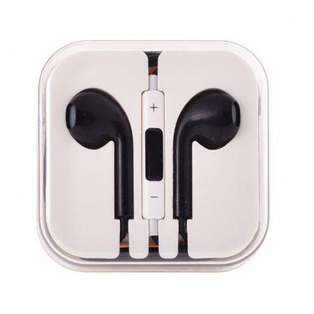 Slušalke, univerzalne, 3,5 jack črna