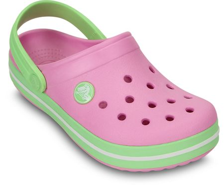 Crocs Crocband Kids Gyermek papucs, Rózsaszín, 28