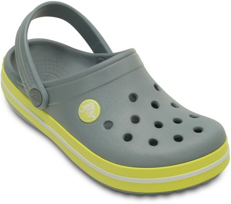 Crocs natikači Crocband Kids (SS15), otroški, sivi, 34,5 (J3)