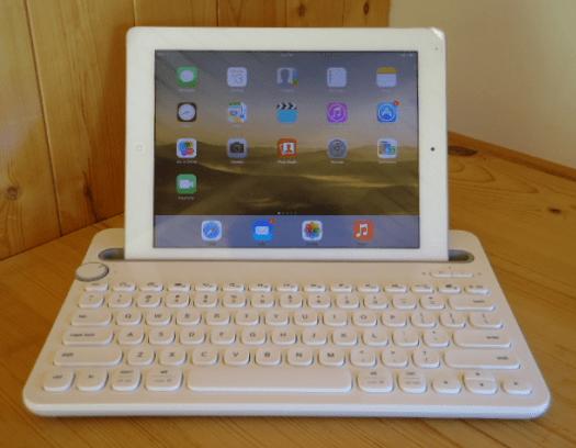Logitech K480 brezžična Multi-Device tipkovnica, bela