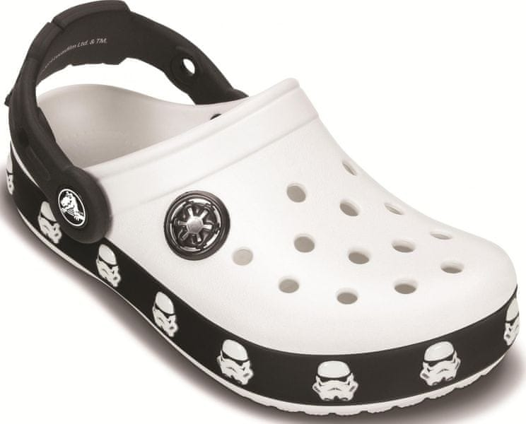 Crocs Star Wars Tropper Clog White/Black 23 (C6/C7)