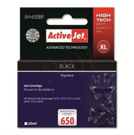 ActiveJet črno črnilo HP CZ101AE 650