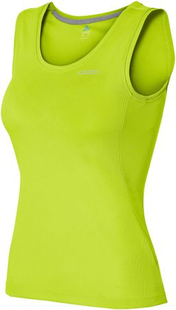 ODLO majica brez rokav Sophie, ženska, zelena, M