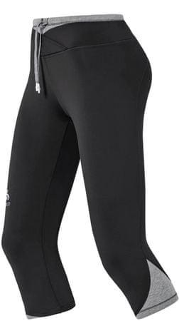 ODLO legginsy do biegania Hana 3/4 Tight Black M