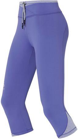 ODLO legginsy do biegania Hana 3/4 Tight Dusted Peri S