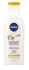 Nivea Sun otroško vlažilno mleko ZF50+, 200 ml