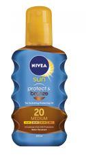Nivea Sun Olej na opalování Protect&Bronze SPF 20 200 ml
