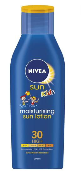 Nivea Sun Kids Dětské mléko na opalování SPF 30 200ml