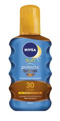 Nivea Sun Protect&Bronze ulje u spreju, SPF30, 200 ml