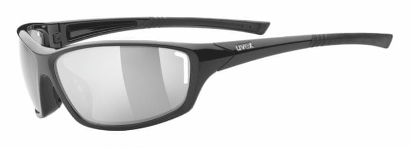 Uvex Sportstyle 210 Black/Silver (2216)