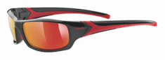 Uvex Sportstyle 211 Black Red/Mir Red (2213)