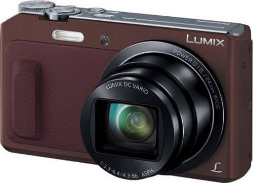 Panasonic Lumix DMC-TZ57EP-T (Brown)