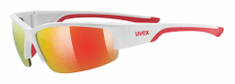 Uvex Sportstyle 215 White Mat Red/Red (8316)