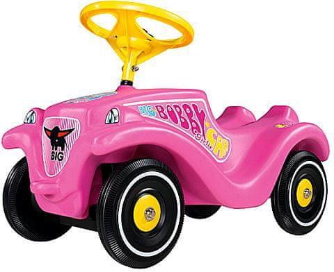 BIG Auto odstrkovadlo růžové Bobby Car