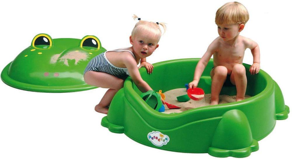 Paradiso Pískoviště bazének žába s víkem
