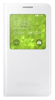 Samsung Pouzdro S-view, Galaxy A5, bílé - II. jakost