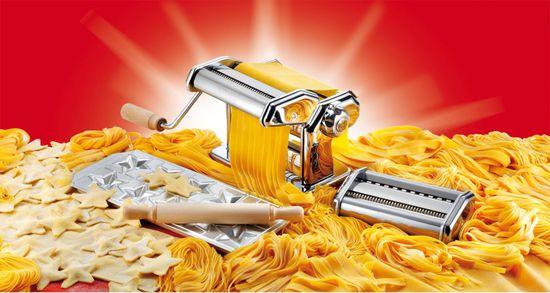 Imperia Pastaia Italiana strojek na těstoviny s doplňky