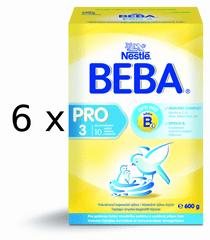 Nestlé BEBA Pro 3 - 6x600g