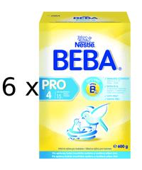 Nestlé BEBA Pro 4 - 6x600g