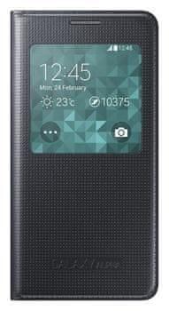 Samsung Pouzdro S-view, Galaxy Alpha, černé