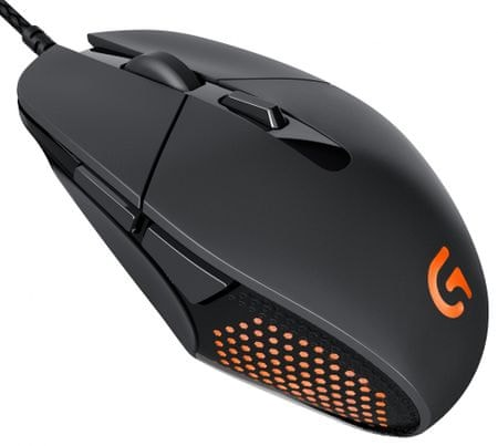 Logitech USB optična miška Daedalus Apex G303, črna
