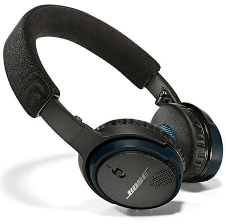 Bose brezžične slušalke SoundLink on-ear, črne