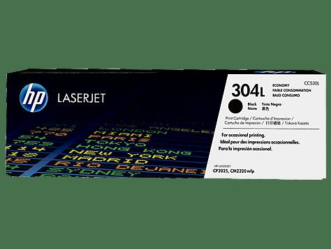 HP LaserJet CC530L č.304L černý