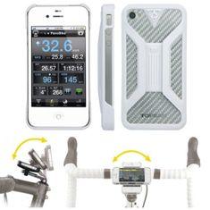 Topeak torbica Ridecase za iPhone 4/4s bela