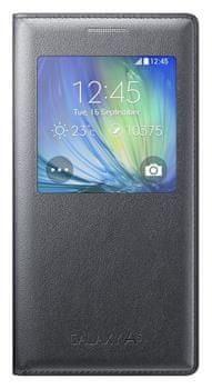 Samsung Pouzdro S-view, Galaxy A5, černé - II. jakost