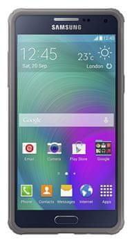Samsung kryt Galaxy Alpha, hnědý