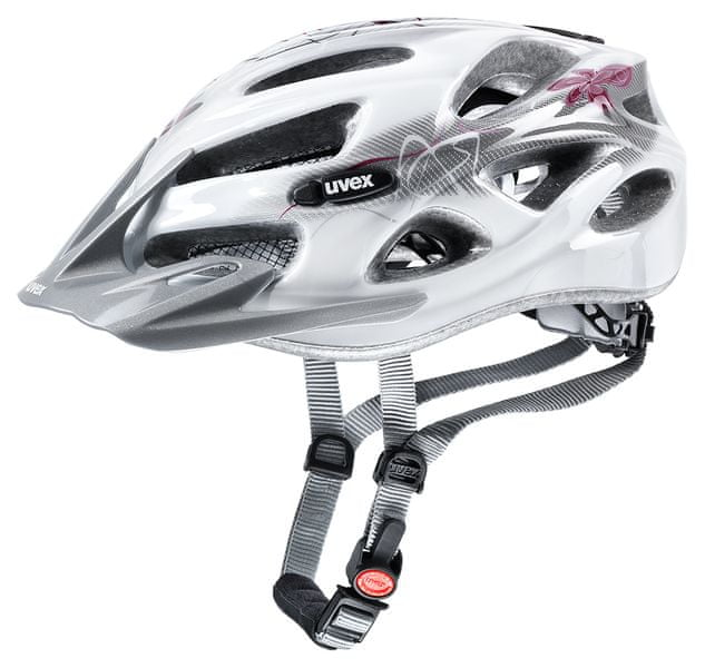 Uvex Onyx Lady Line White-Red uni (52-57 cm)