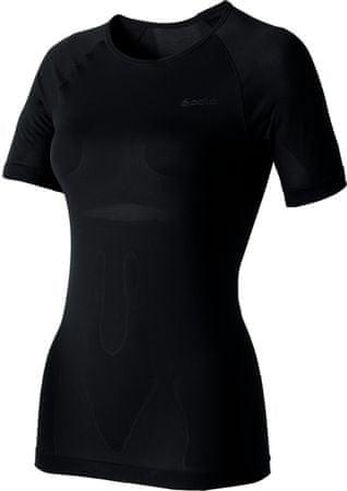 ODLO majica s kratkimi rokavi Evolution X-Light, ženska, črna, M
