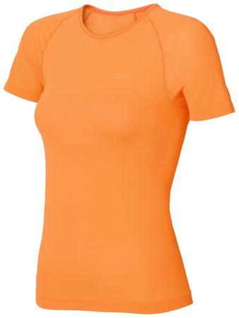 ODLO majica s kratkimi rokavi Evolution X-Light, ženska, oranžna, L